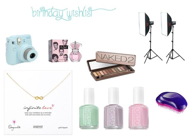 birthday wish list